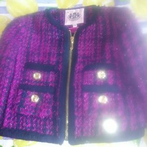 Juicy Couture Toddlers Coat Size 2/3